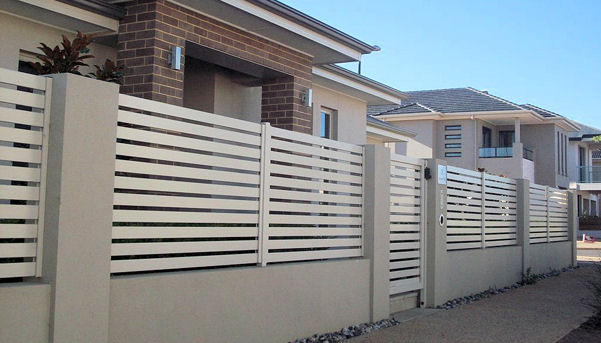 creative lightweight solution rendered walling fencing townhouse