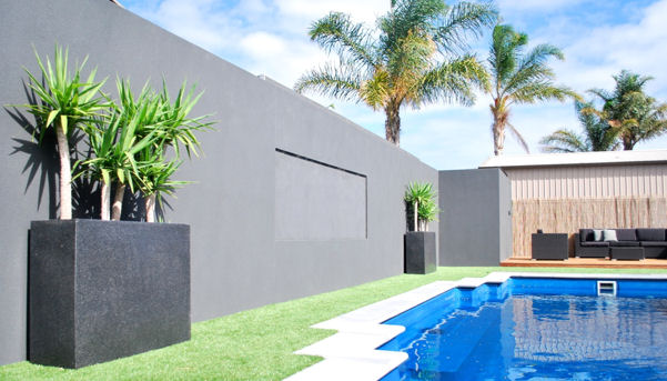 Creative Lightweight Solution Rendered Walling Fencing